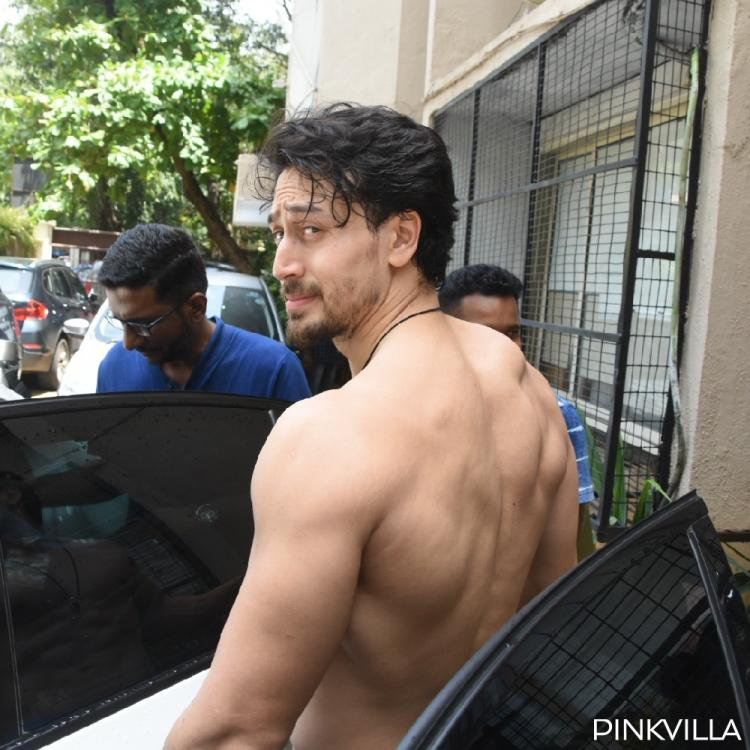 Tiger Shroff stuns fans by going shirtless as he gets papped in Mumbai; View pics