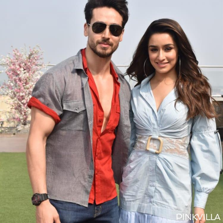 Tiger Shroff and Shraddha Kapoor kick off Baaghi 3 promotions in stylish hues of red and blue; See PHOTOS
