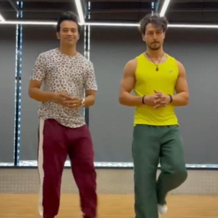 Tiger Shroff's nimble footwork in latest dance clip takes the internet by storm; Disha Patani's sister REACTS
