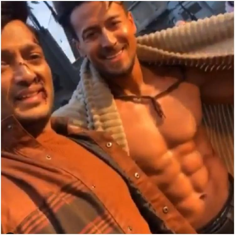 Tiger Shroff, Shraddha Kapoor, Riteish Deshmukh show off side effects of Baaghi 3 action scene in a BTS video