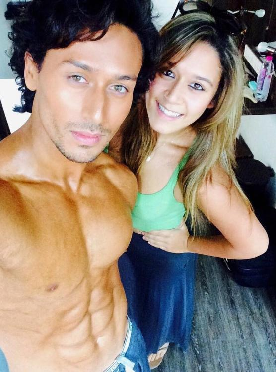 Tiger Shroff's sis Krishna REVEALS she left a rakhi for him before jetting off to Australia to be with BF