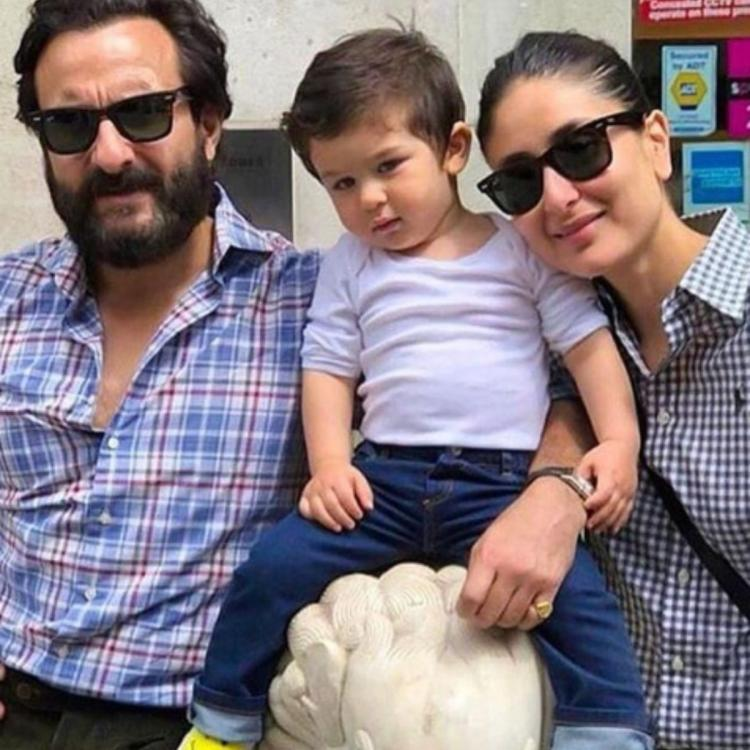 Taimur Ali Khan is the happiest when posing with Kareena Kapoor Khan and Saif Ali Khan and this photo is proof