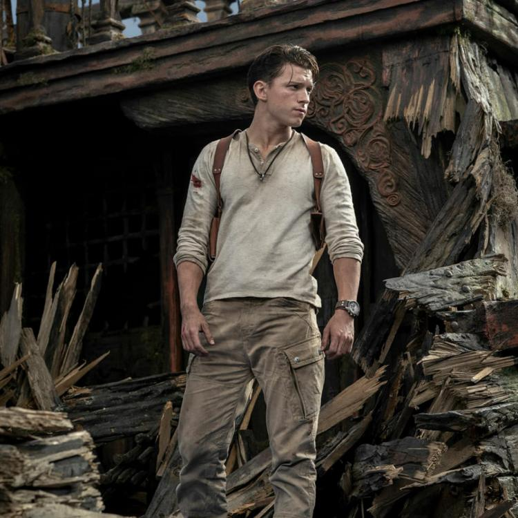 Tom Holland portrays PlayStation icon Nathan Drake in Uncharted