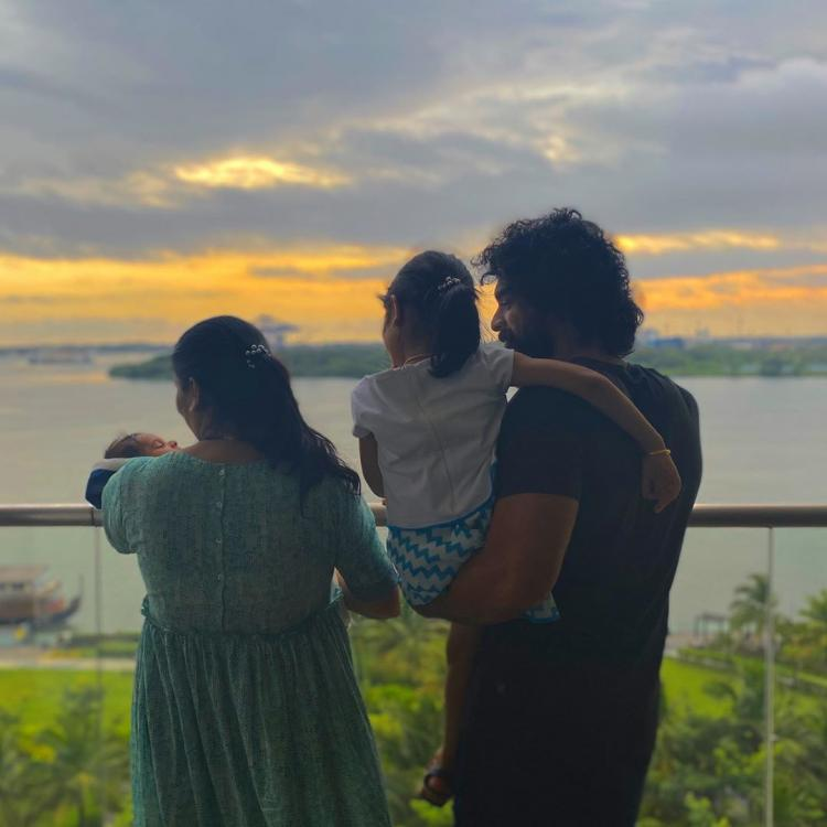 Tovino Thomas shares a picture-perfect family moment with his wife and kids & we are all hearts