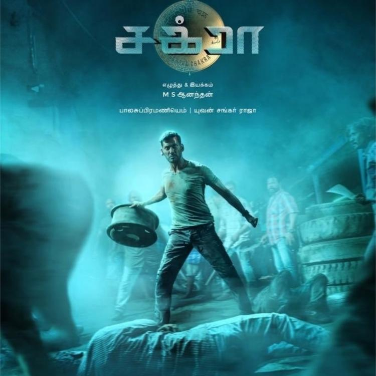 Trailer of Vishal's Chakra to be released in four languages on June 27