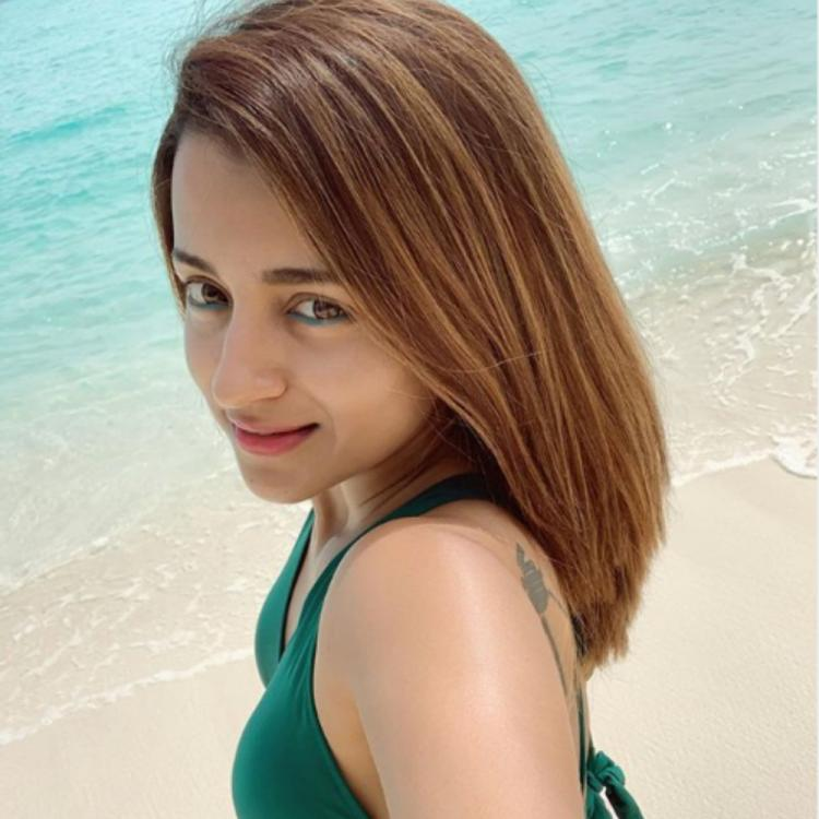 Trisha Krishan is setting the internet on fire with her beach selfie; Check it out