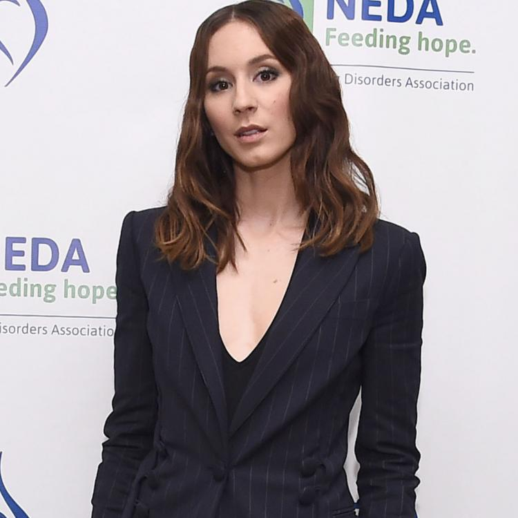 Troian Bellisario REVEALS why she had anxiety before attending Meghan Markle and Prince Harry's wedding