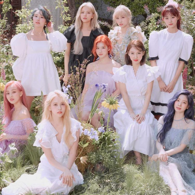 The concept image for TWICE's More and More