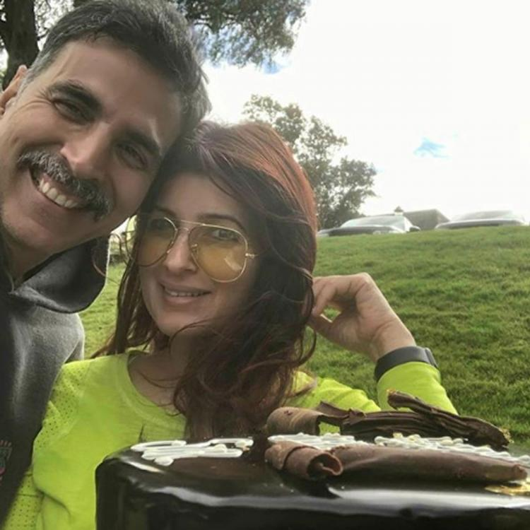 Twinkle Khanna gives glimpse of the 'big boy' Akshay Kumar's birthday as he gets special gift from kids