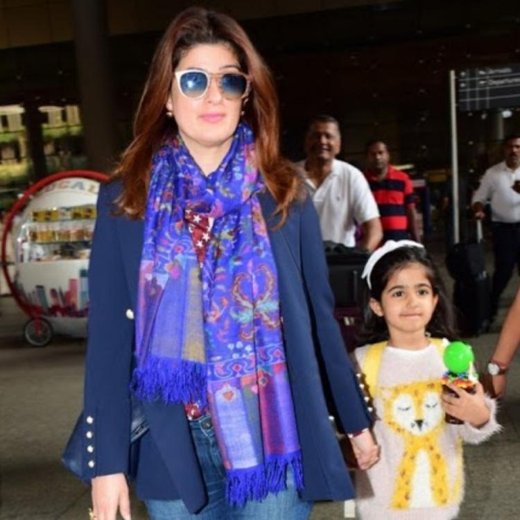 Twinkle Khanna recreates a horror scene with daughter Nitara and her friend; Watch video