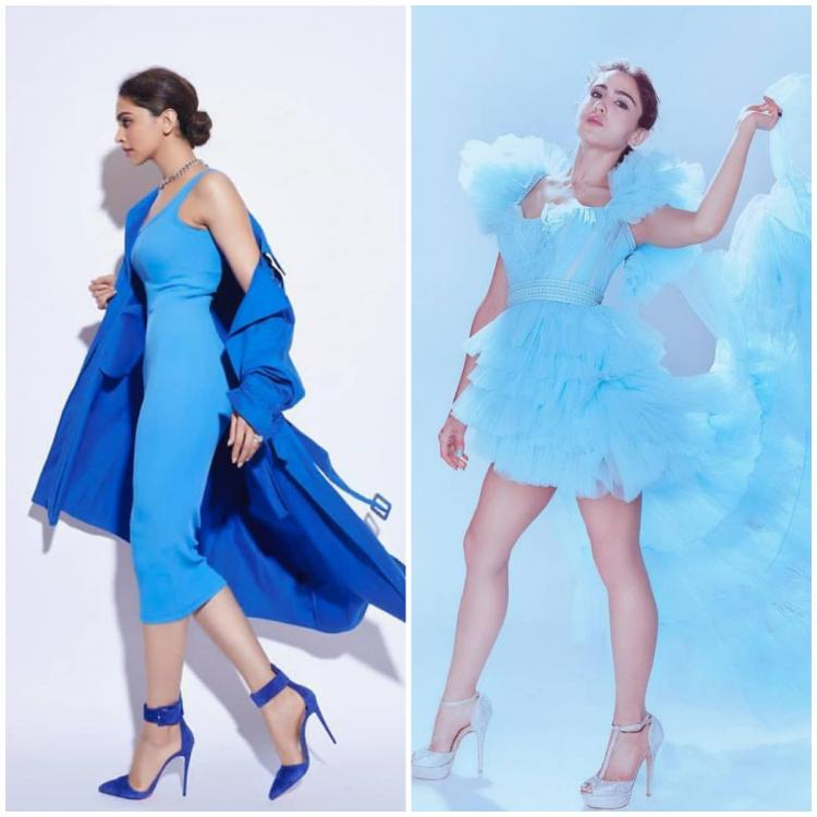Deepika Padukone to Sara Ali Khan: Bollywood divas who showed how to beat Monday blues with blue outfits
