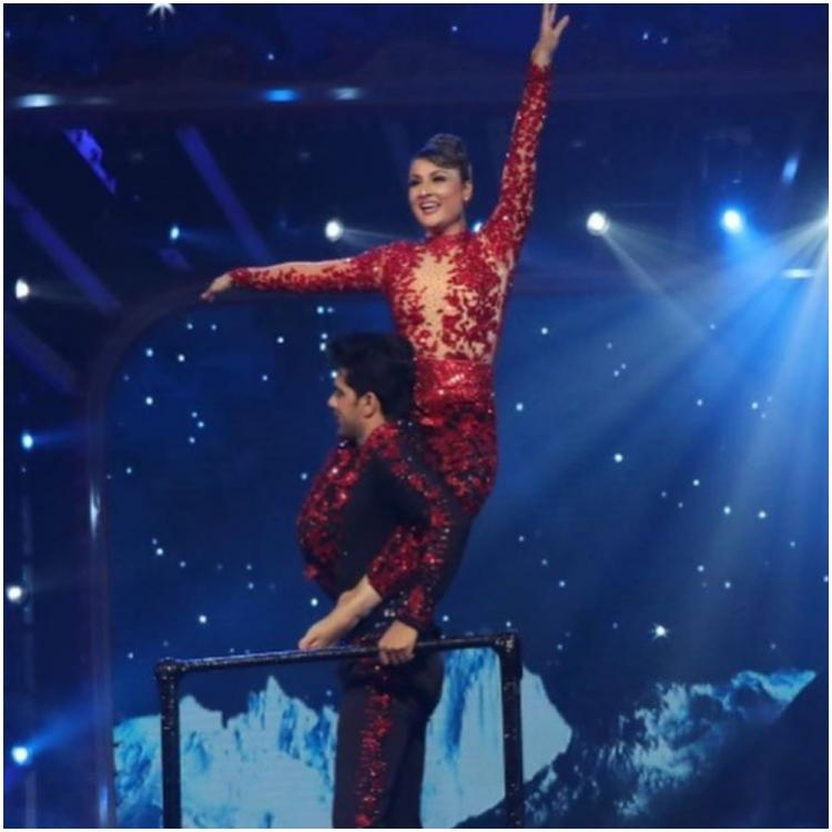 Nach Baliye 9: Urvashi Dholakia shares a video of her getting injured during rehearsal with Anuj Sachdeva