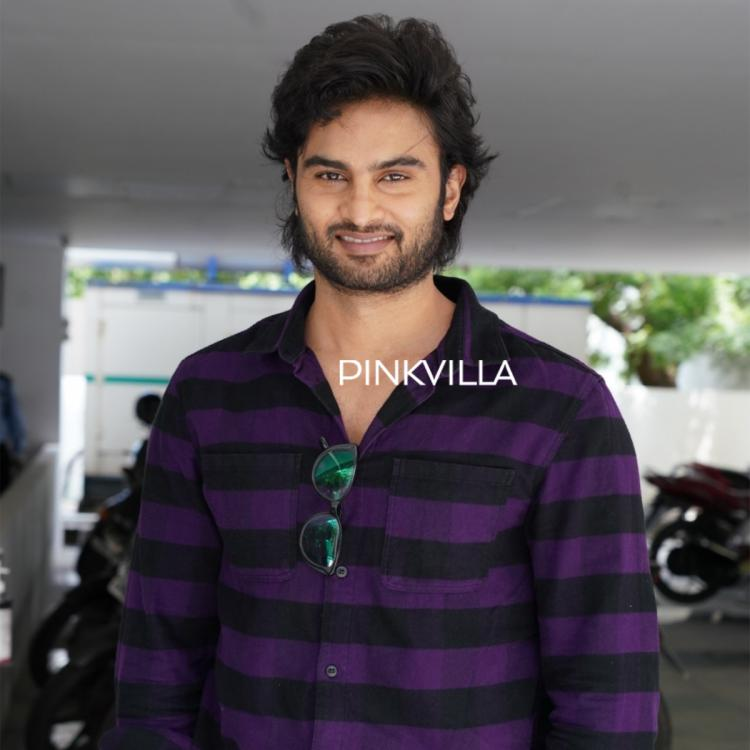 V star Sudheer Babu opts for a casual outfit as he steps out for movie promotions; See PHOTOS