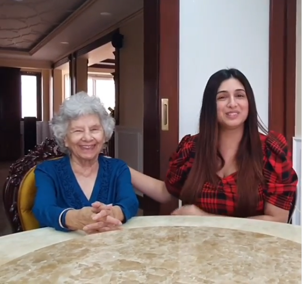 Vahbiz Dorabjee's grandmother joins her to explain the importance of the lockdown; VIDEO