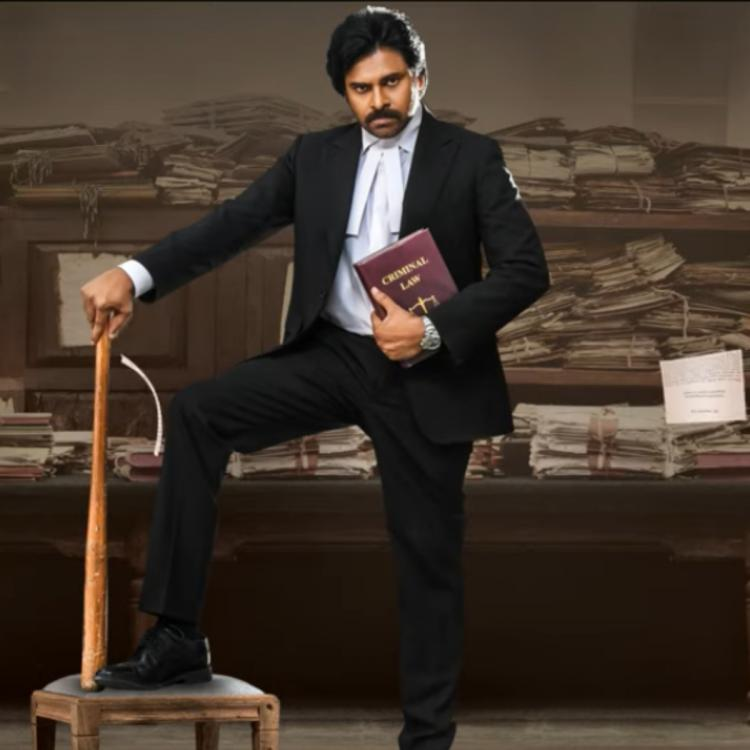 Vakeel Saab Motion Poster OUT: Pawan Kalyan is ready to conquer with his intense lawyer look; BGM is thrilling