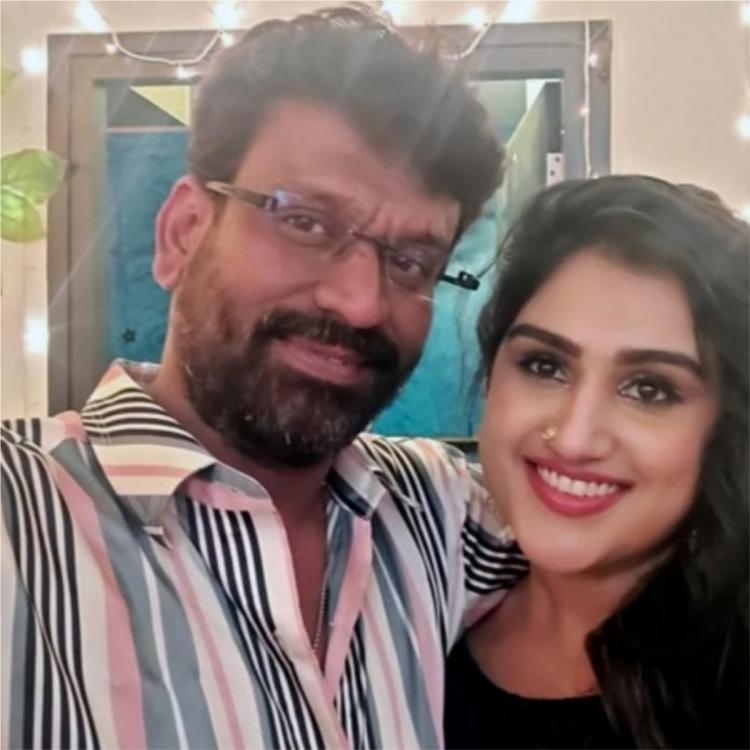 Vanitha Vijayakumar OPENS UP about relationship issues with Peter Paul; Says she has not given up yet