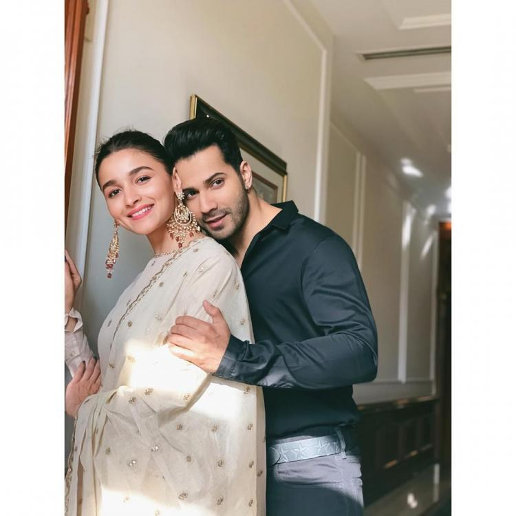 Alia Bhatt wishes her 'partner in crime' Varun Dhawan on his birthday in the sweetest possible way; See Pic