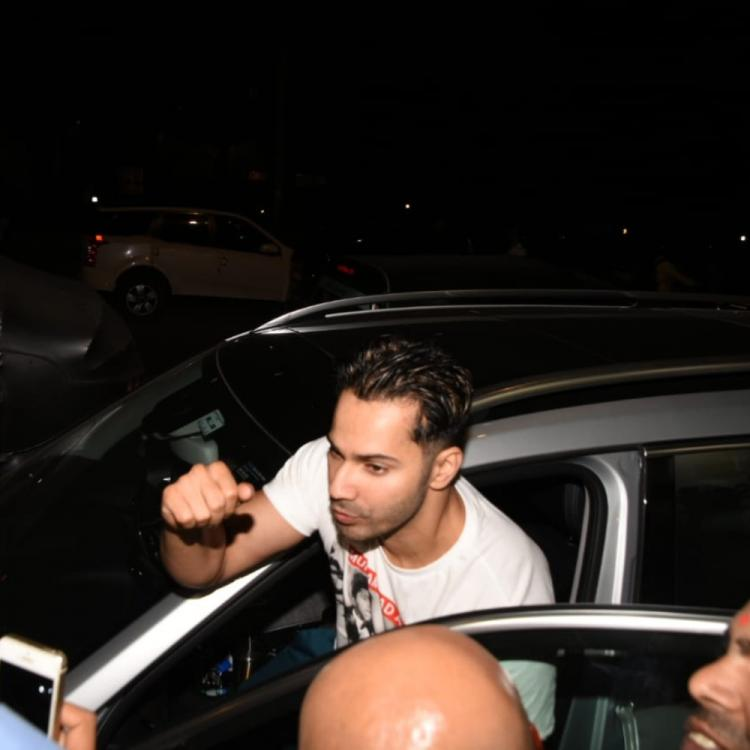 PHOTOS: Varun Dhawan keeps it simple and casual as he comes out of a salon