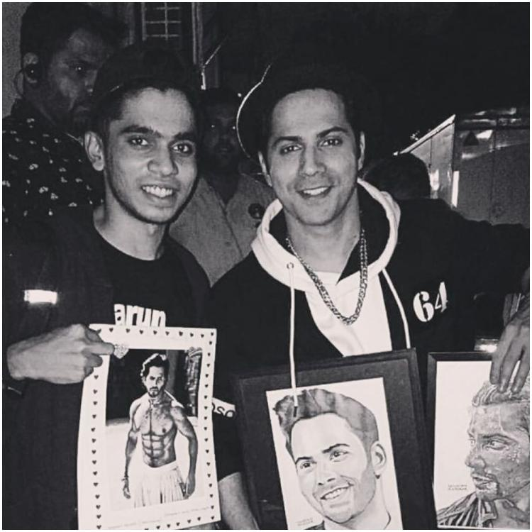 Street Dancer 3D star Varun Dhawan is 'humbled' as his fan surprises him with the coolest gift; Check it out