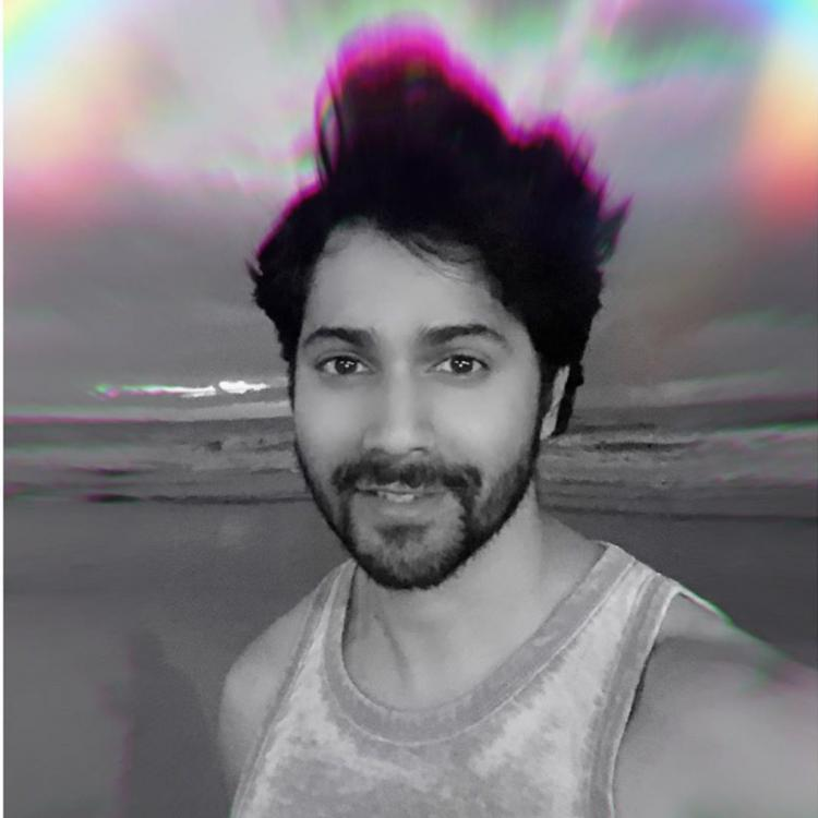 Varun Dhawan captures a beautiful rainbow in a recent selfie BUT Sara Ali Khan's comment steals the show