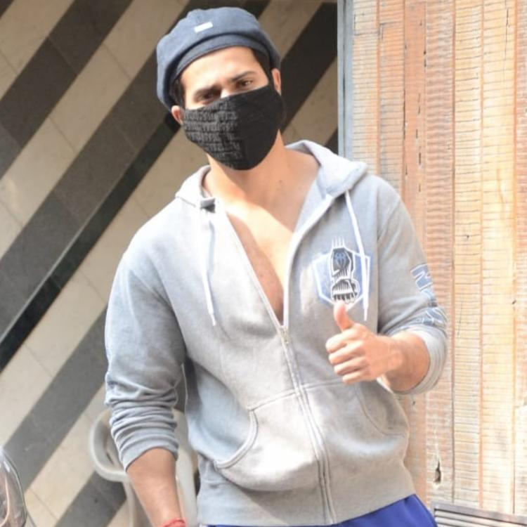 PHOTOS: Varun Dhawan spends Sunday afternoon in the gym as he gets snapped by the paparazzi