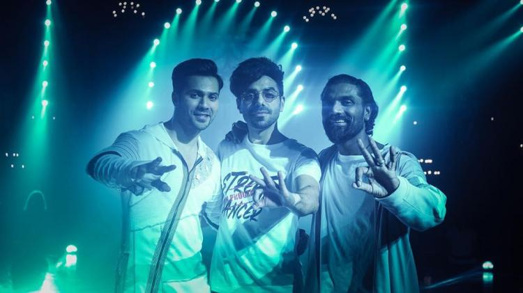 Varun Dhawan, Aparshakti & Remo strike a cool pose in an UNSEEN pic leaving fans pumped for Street Dancer