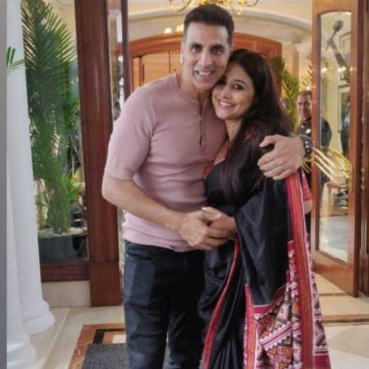 Mission Mangal's Vidya Balan reminisces a few moments with co stars Akshay Kumar, Taapsee Pannu & others; VIEW
