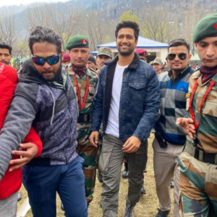 Vicky Kaushal expresses his gratitude towards Indian Army post visiting a base camp; Calls it a big honour