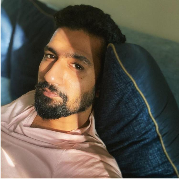 Vicky Kaushal misses acknowledging sunsets by saying 'Light jaa raha hai' on film set; See Pic