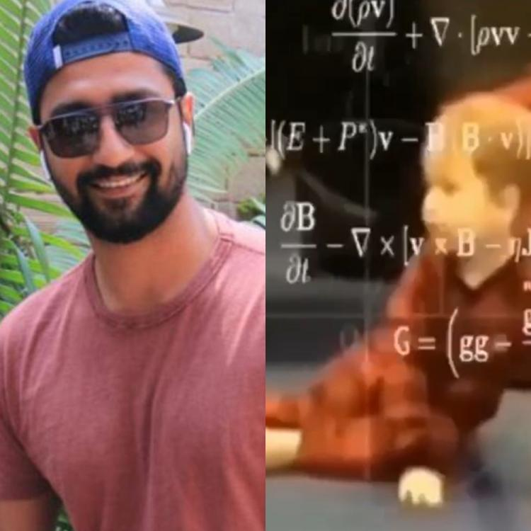 Vicky Kaushal shares a hilarious video about confusing maths formulas amidst COVID 19 and it will crack you up