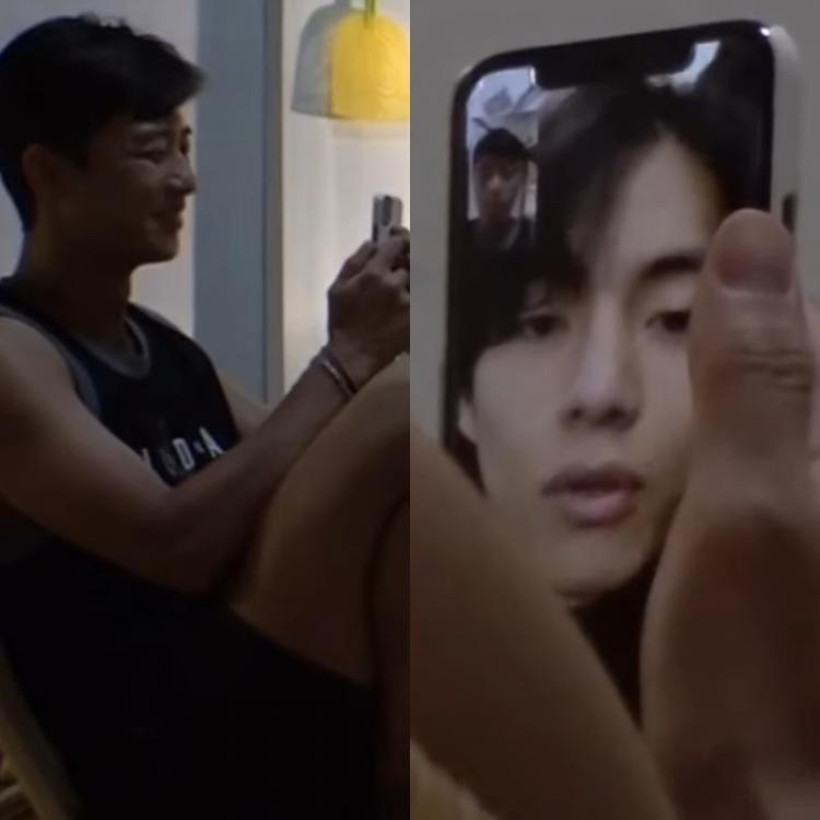 Park Seo-joon and Choi Woo-shik video called BTS member V during an episode of Summer Vacation.