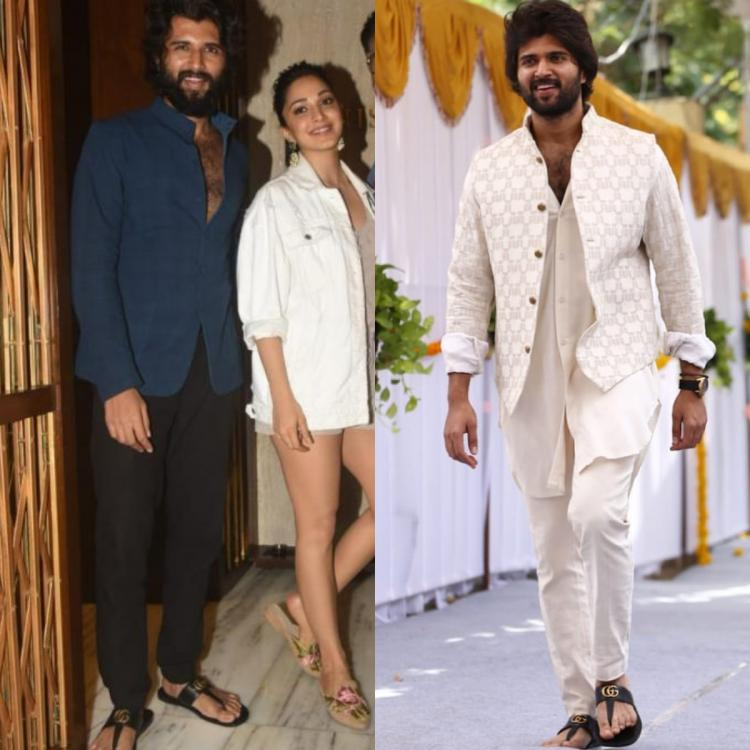 Vijay Deverakonda LOVES his Gucci sliders: All the times the actor showed how to sport it with any outfit