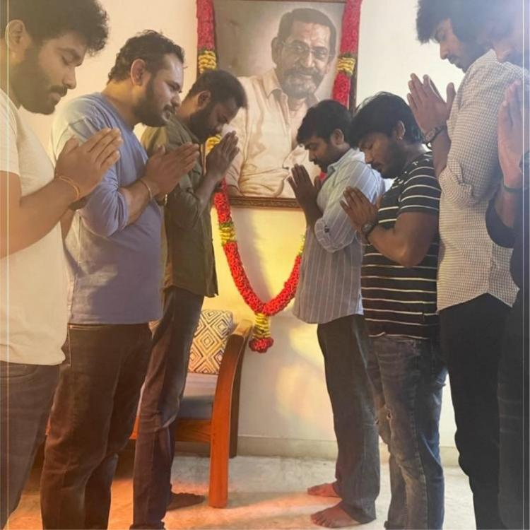 Vijay Sethupathi pays tribute to late filmmaker SP Jananathan while wishing on Labour Day