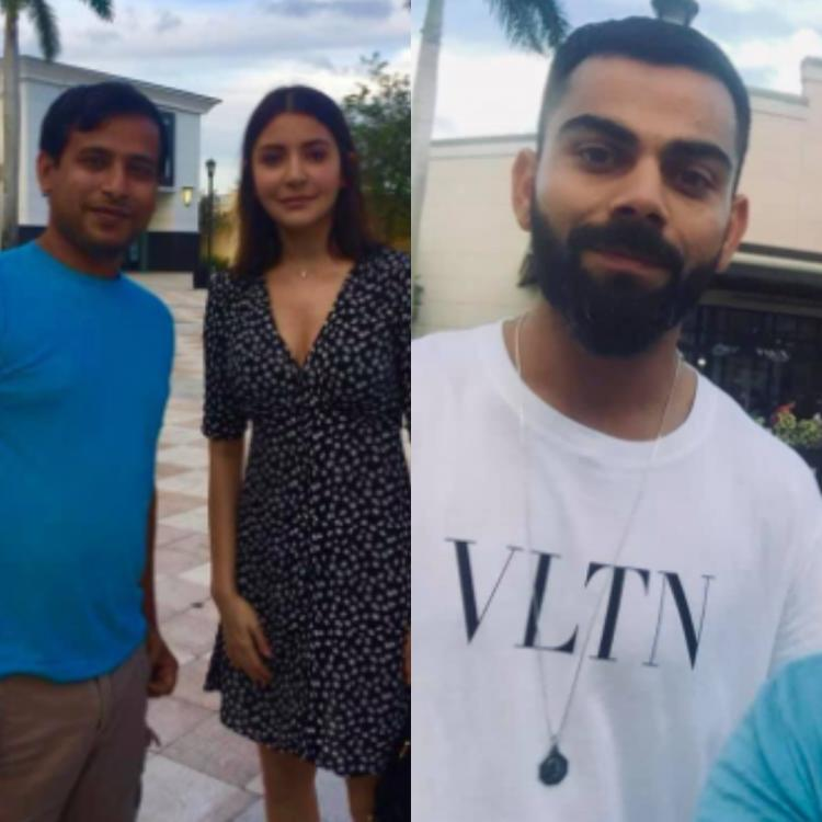 PHOTOS: Anushka Sharma and Virat Kohli enjoy a day out in Florida ahead of West Indies your; Check it out