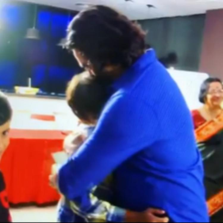 WATCH: R Madhavan hugging and teasing his son in this throwback video is all things cute