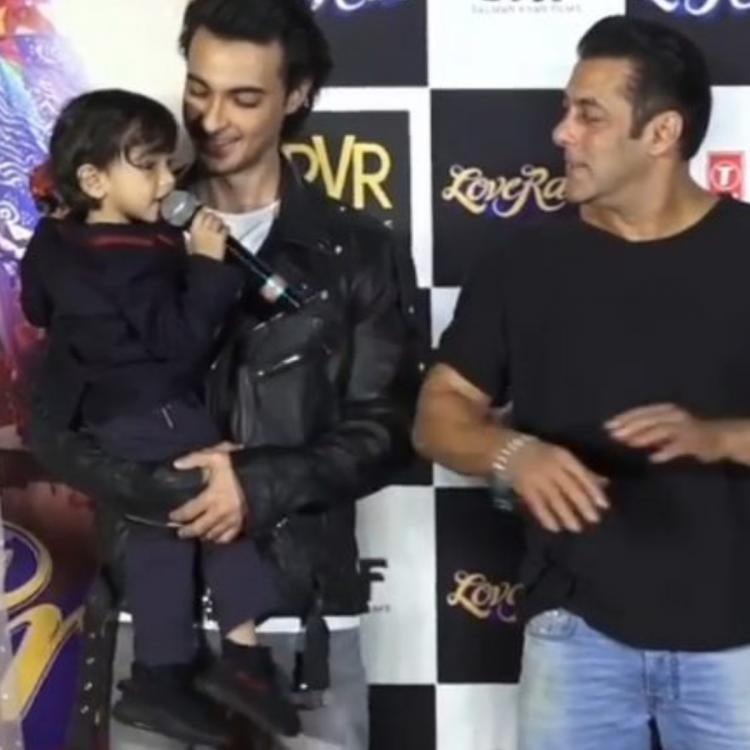WATCH: Salman Khan's cute banter with nephew Ahil in this throwback video will brighten up your lockdown mood