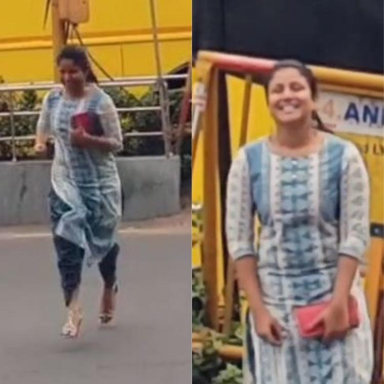 WATCH Sanjeev Karthick shares video of Alya Manasa proposing to him in the middle of a busy road