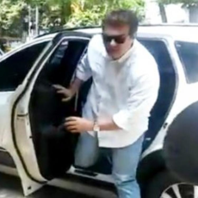 Watch: Thala Ajith with Boney Kapoor spotted at Sridevi's residence in Chennai on her second death anniversary