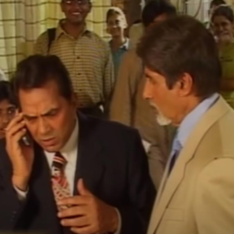 WATCH: When Dharmendra took a funny dig at Amitabh Bachchan & said he is 'very busy, I am not at all busy'