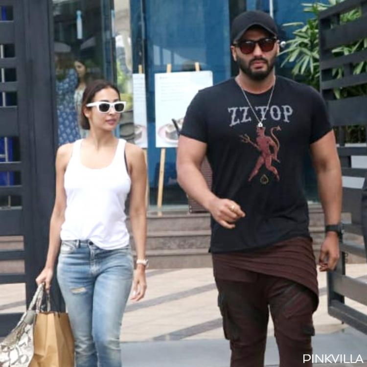 Arjun Kapoor and Malaika Arora steal some time off the week day as they get spotted in the city