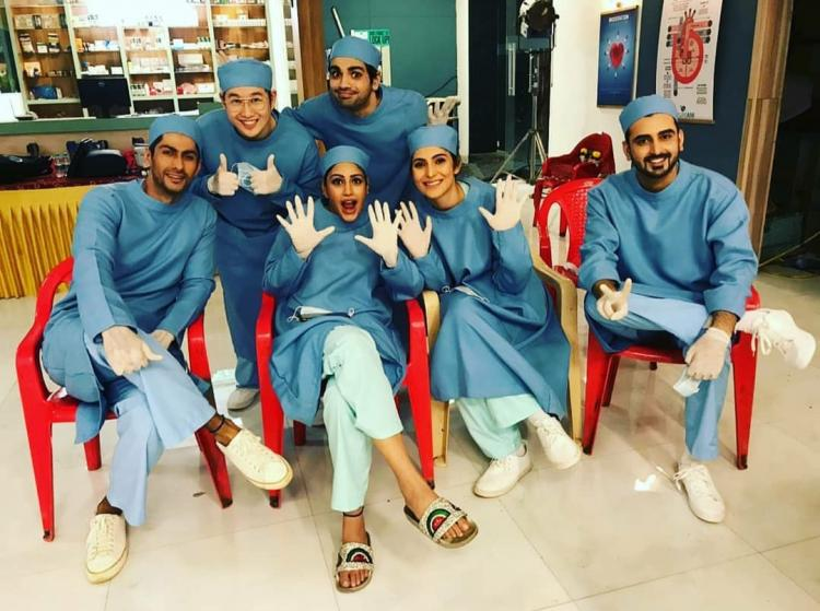 Sanjivani 2: Surbhi Chandna, Namit Khanna and others get goofy off duty in these BTS pictures from setsSanjivani 2: Surbhi Chandna, Namit Khanna and others get goofy off duty in these BTS pictures from sets