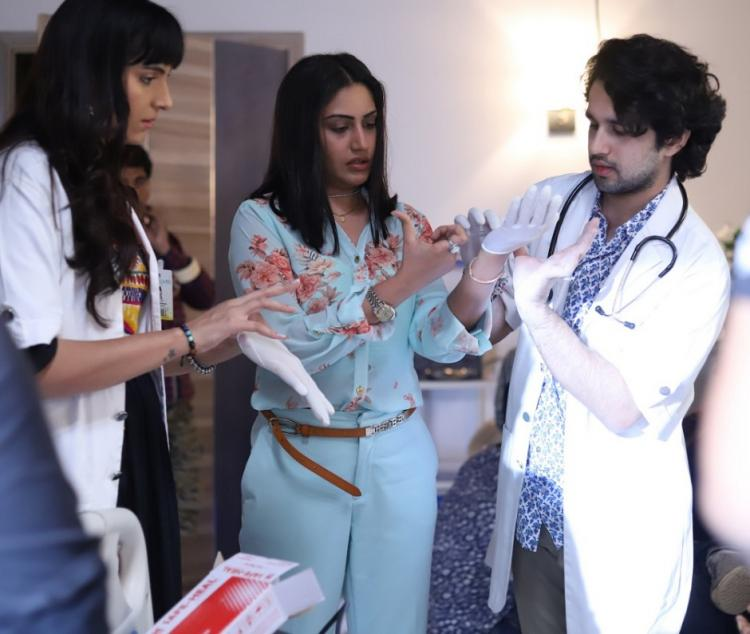 Sanjivani 2 fame Surbhi Chandna opens on playing Dr Ishani, says, 'Playing a doctor is a challenging task'