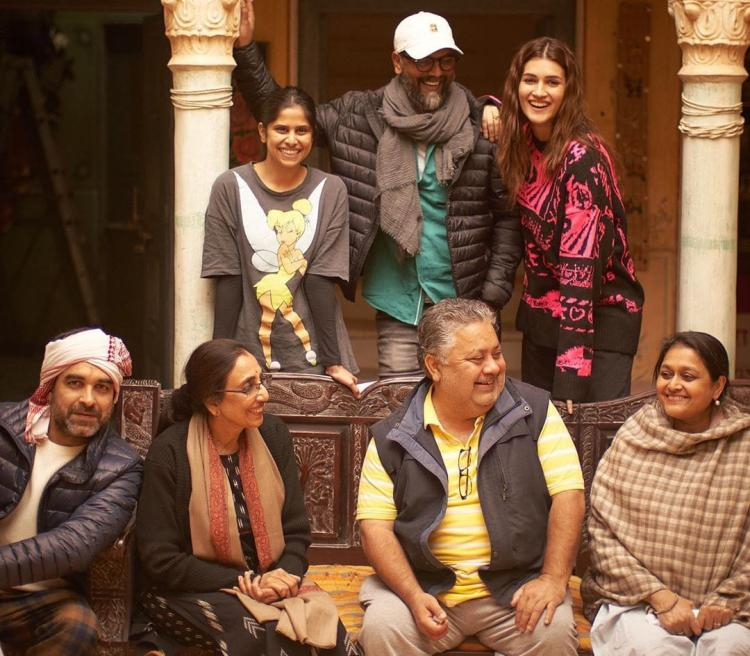 Kriti Sanon begins the second schedule of her upcoming film 'Mimi' in Jaipur
