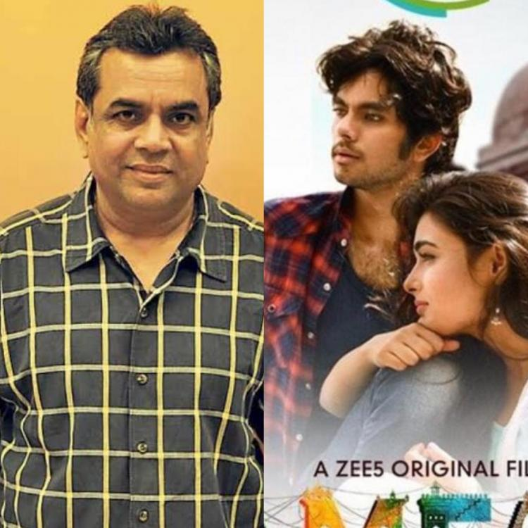Paresh Rawal was left surprised when his son signed a film as an actor