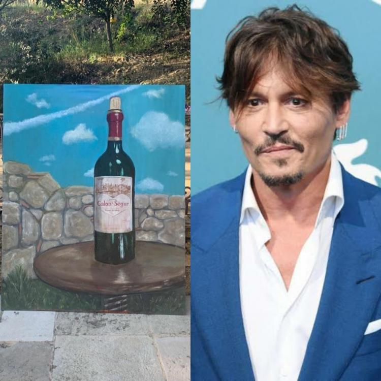 Johnny Depp has completed painting after 14 years amid lockdown