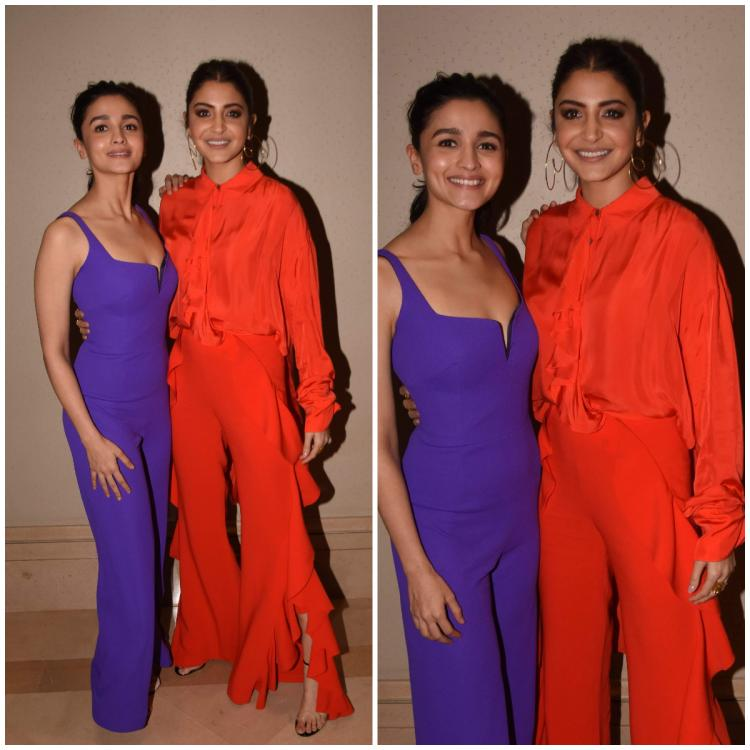 Flashback Friday: When Alia Bhatt and Anushka Sharma rocked VIBRANT outfits and struck a pose together