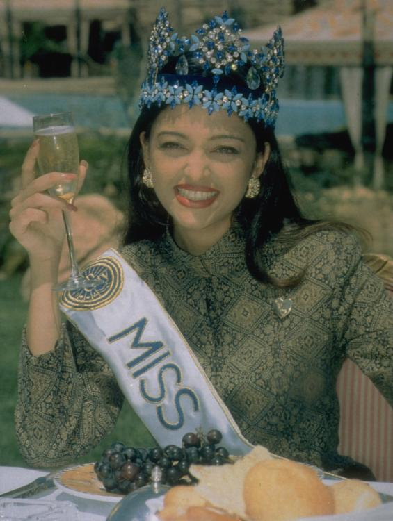 Aishwarya Rai was just 21 years of age when she was crowned Miss World in 1994.
