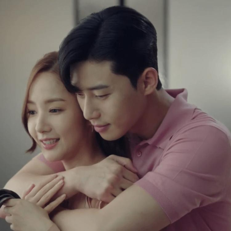 Park Seo-joon and Park Min-young starred in What's Wrong with Secretary Kim.