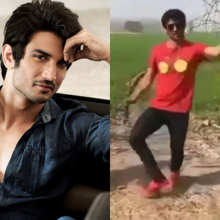 When Sushant Singh Rajput shook a leg on Madhuri Dixit's song and showed his lively persona; WATCH