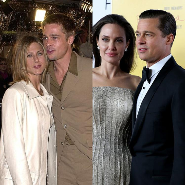 When Angelina acknowledged Jennifer Aniston's importance in Brad Pitt's life: He was with his best friend